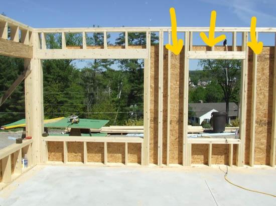 Framing with no Blocking - Sheridan Interiors