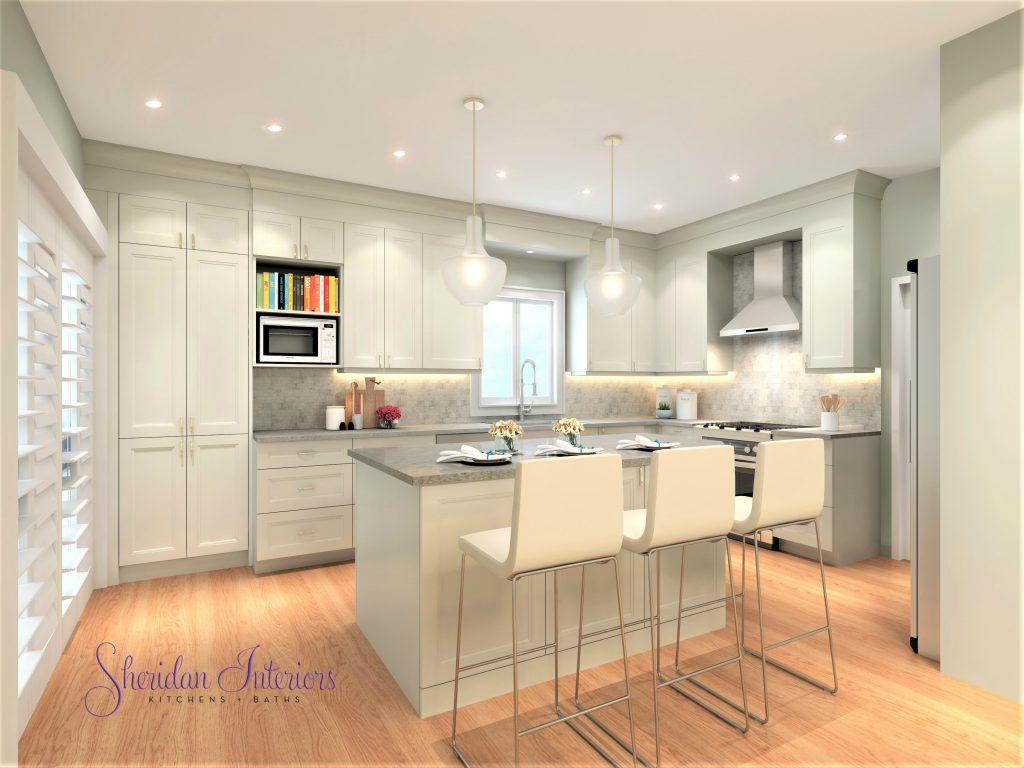 Small Kitchen Lives Large - Sheridan Interiors
