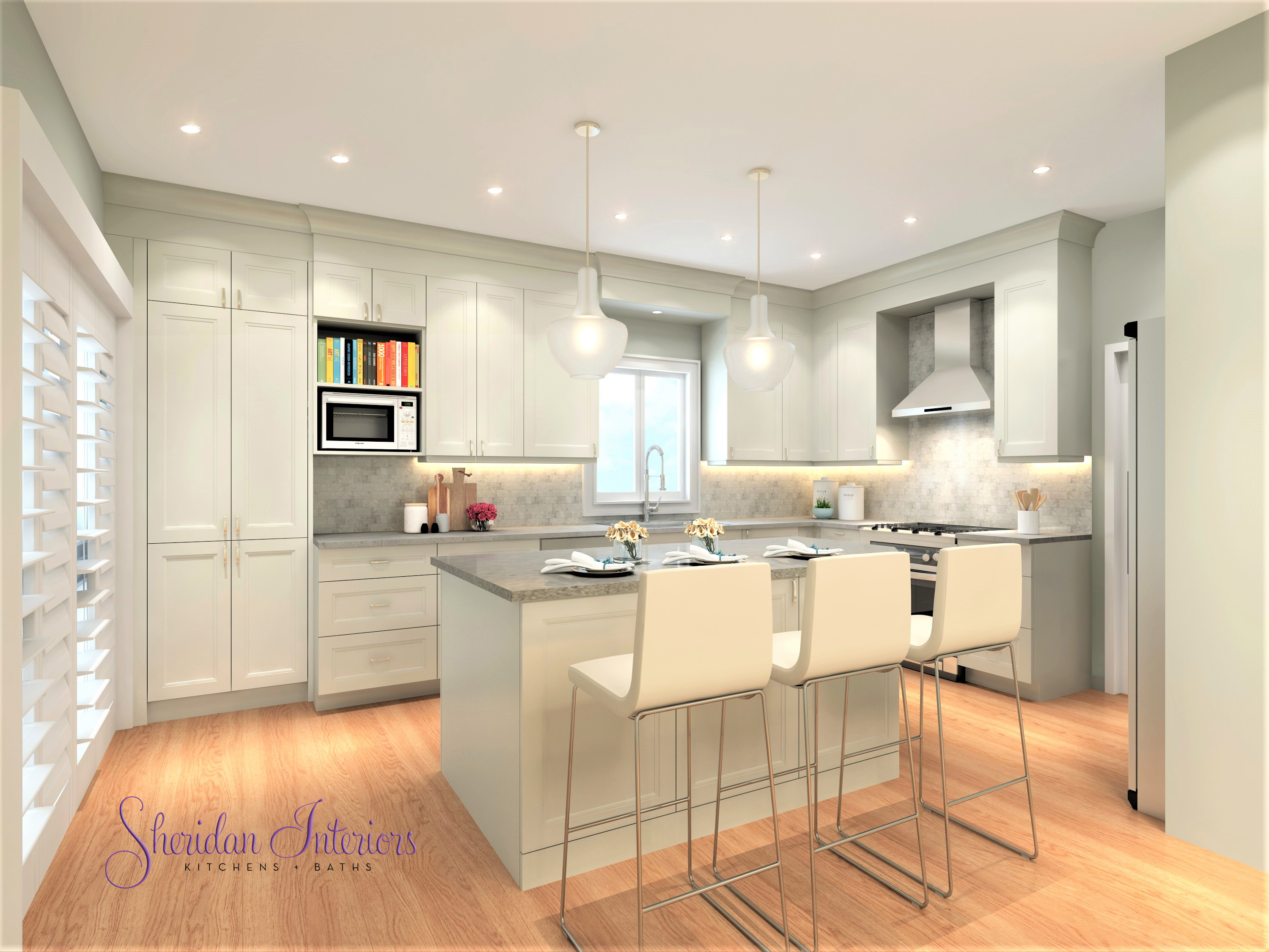 Admirable Before And After A Small Kitchen Lives Large Sheridan Interior Design Ideas Ghosoteloinfo