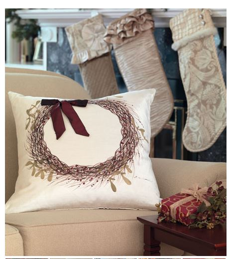 Sparkling Holiday Pillows - Sheridan Interiors