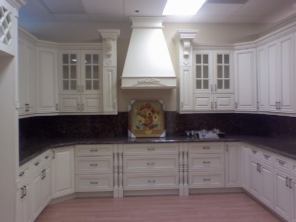 Kitchen with Bad Lighting - Sheridan Interiors