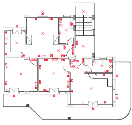 Lighting Plan - Sheridan Interiors