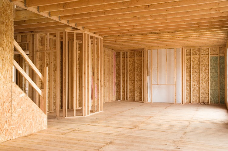 Residential Interior Framing - Sheridan Interiors