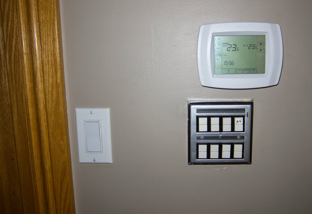 HVAC & Lighting Controls - Sheridan Interiors