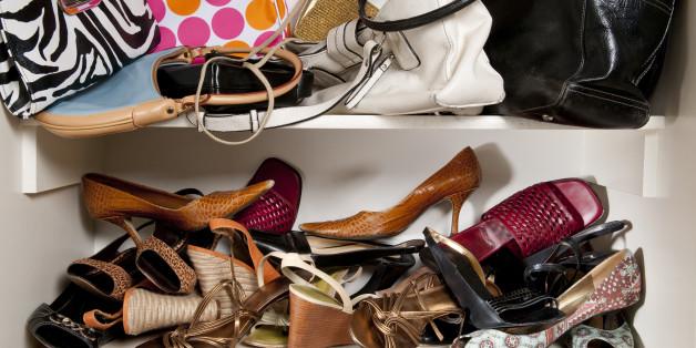 Clutter Closet - Sheridan Interiors