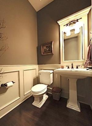Main Floor Half Bath - Sheridan Interiors