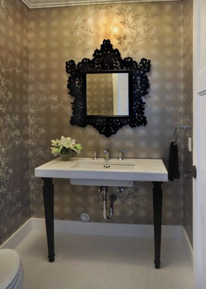 Half Bathrooms - Sheridan Interiors