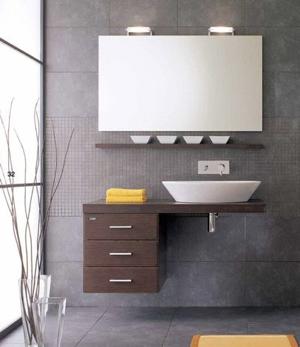 Half Bath Vanity - Sheridan Interiors