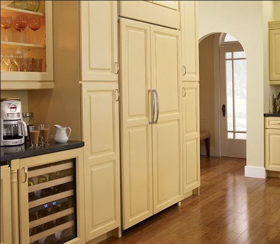 Built-in Refrigerators - Sheridan Interiors