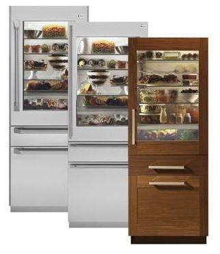 Sub-Zero Refrigerator - Sheridan Interiors
