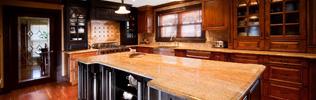 Custom Cabinetry & Countertops - Sheridan Interiors