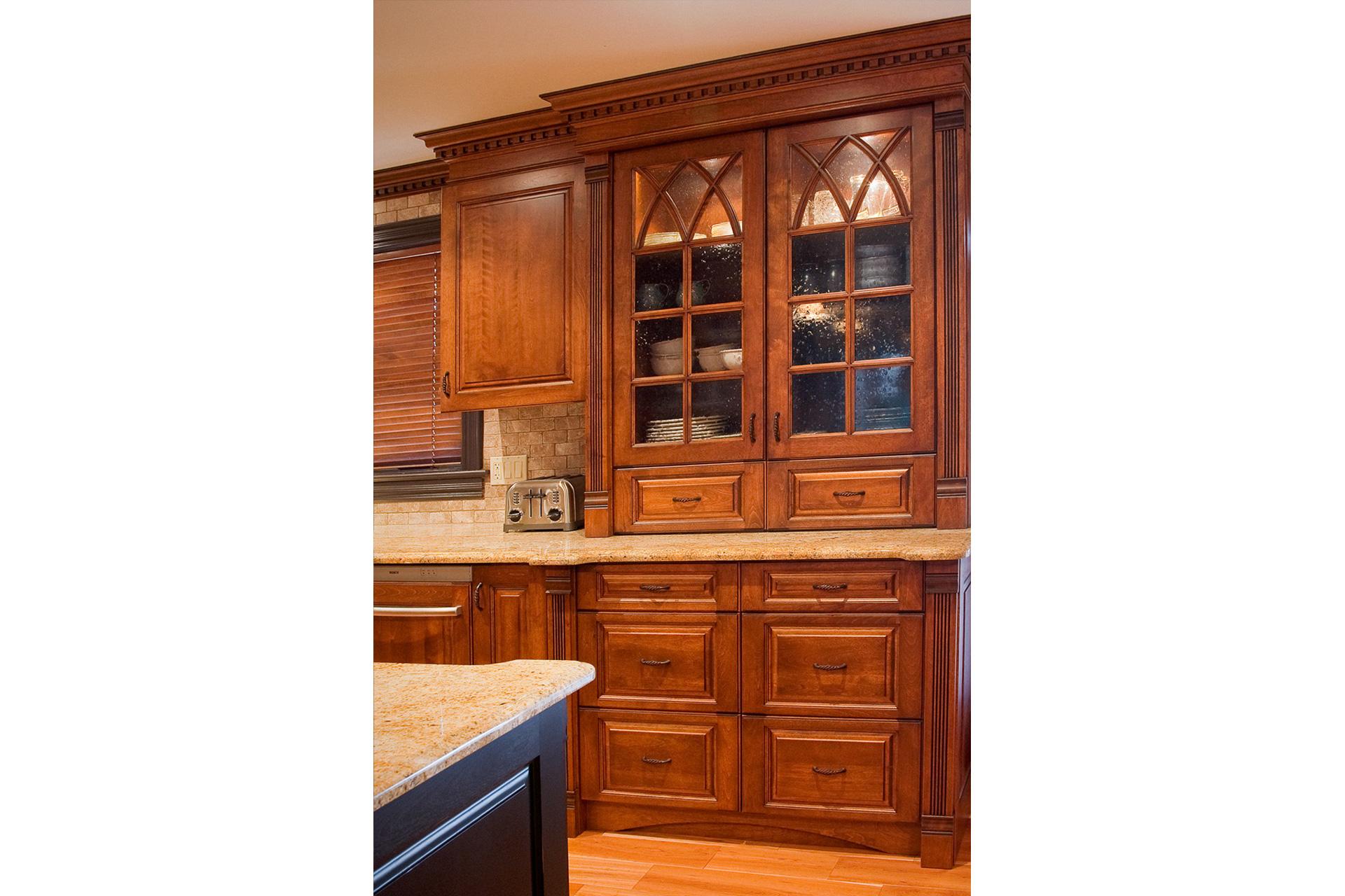Cherry Kitchen Hutch - Sheridan Interiors
