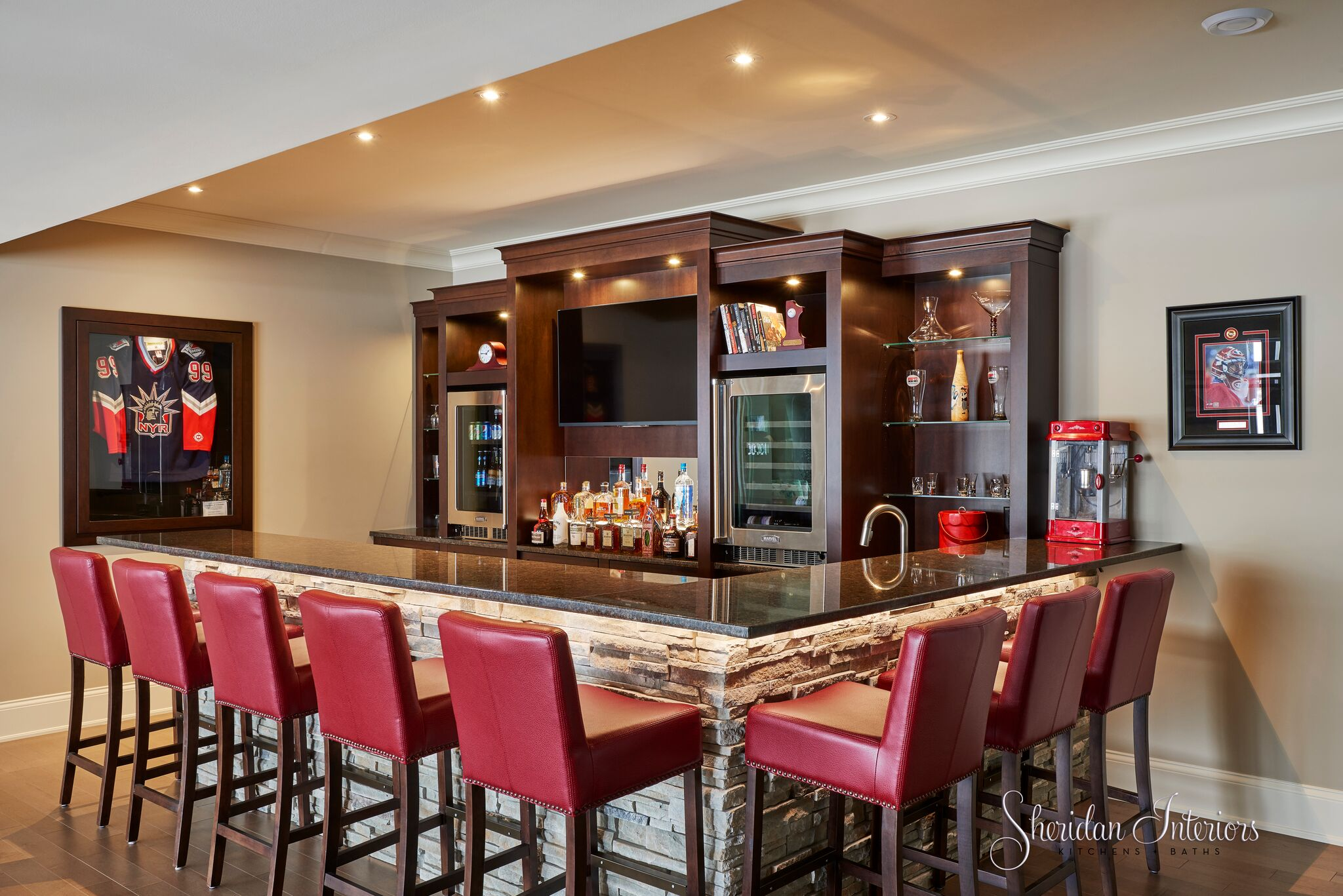 basement bar, modern bar design, basement renovation ideas