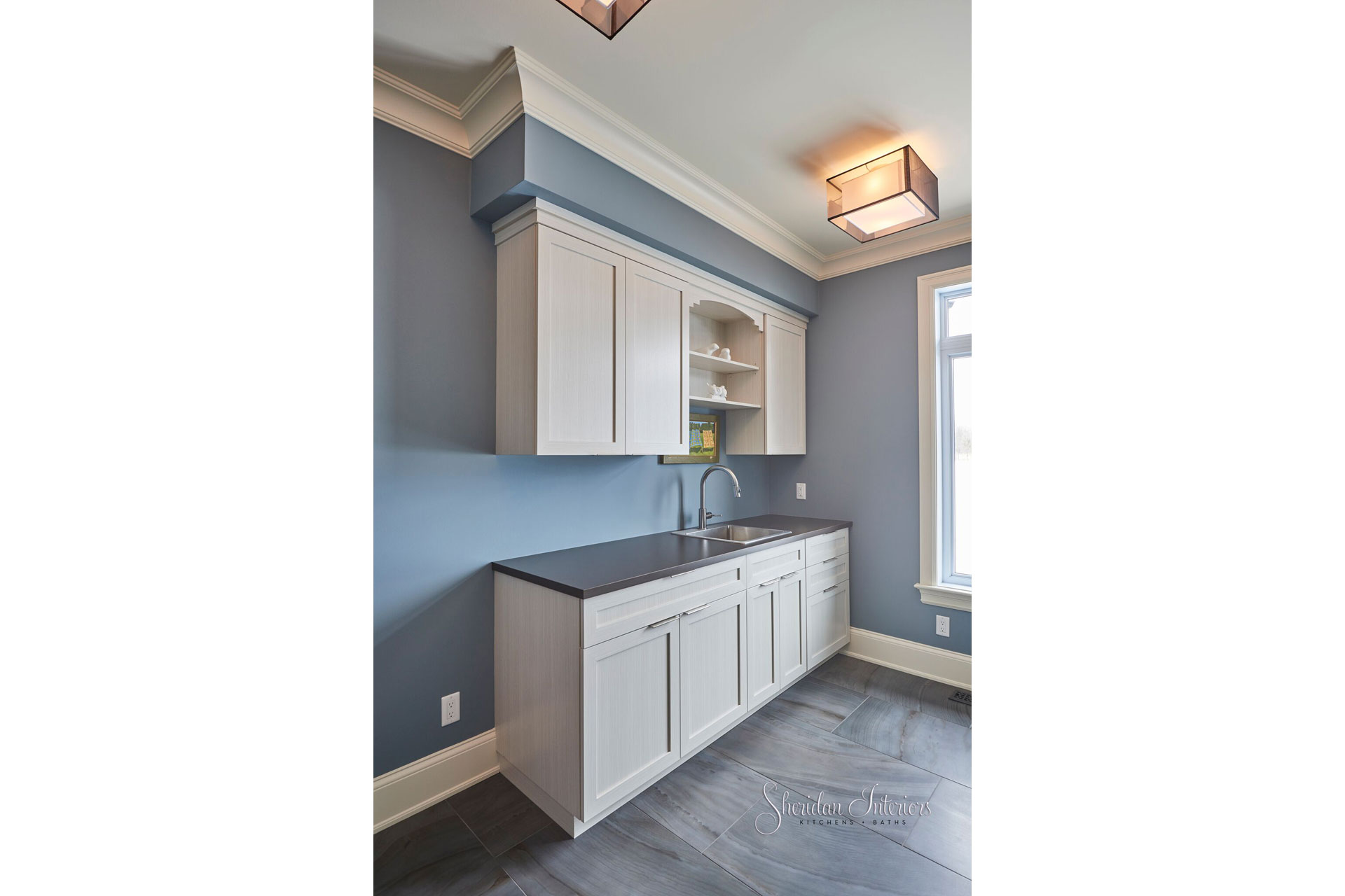 Modern Laundry Room - Sheridan Interiors
