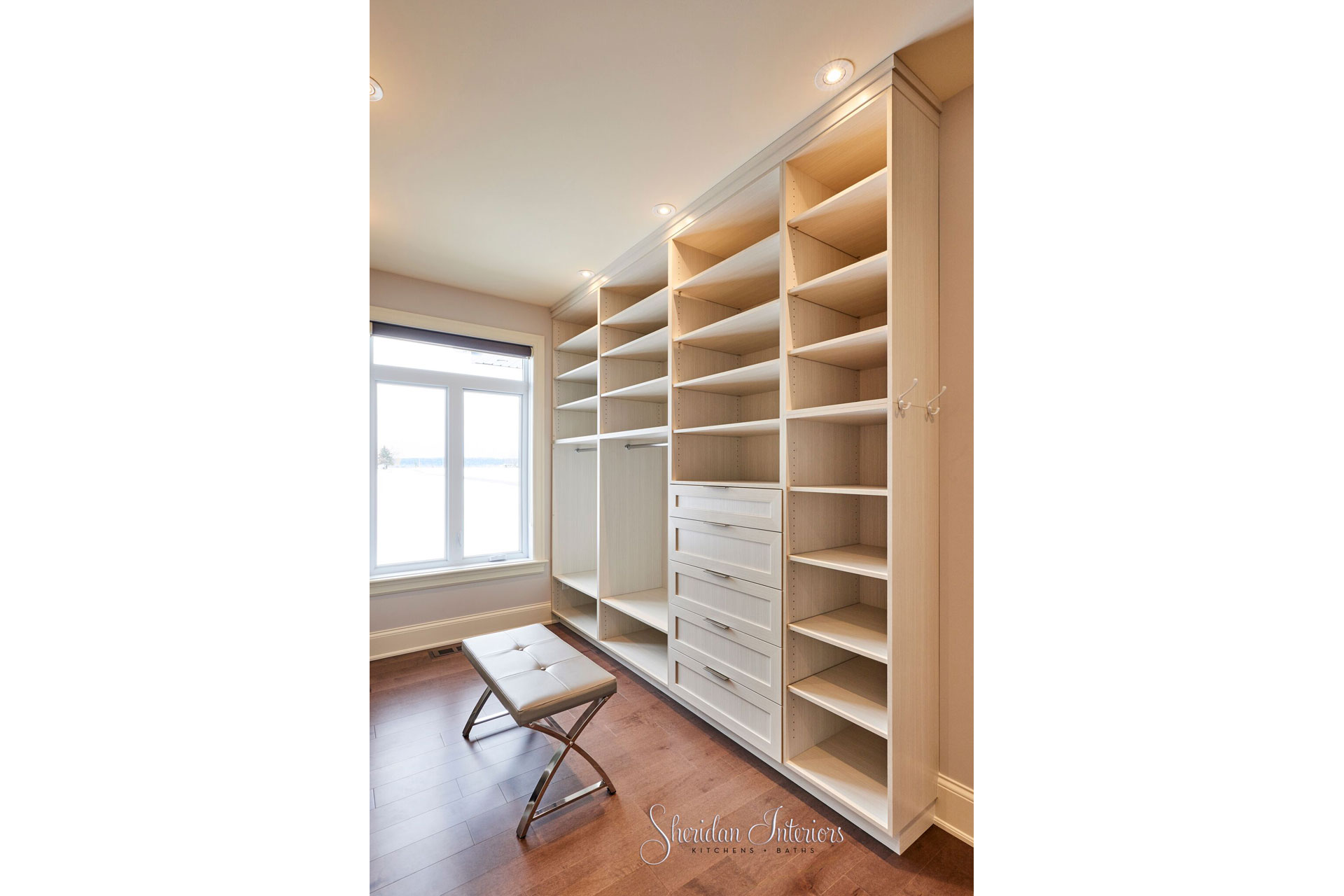 Walk-in Closet - Sheridan Interiors