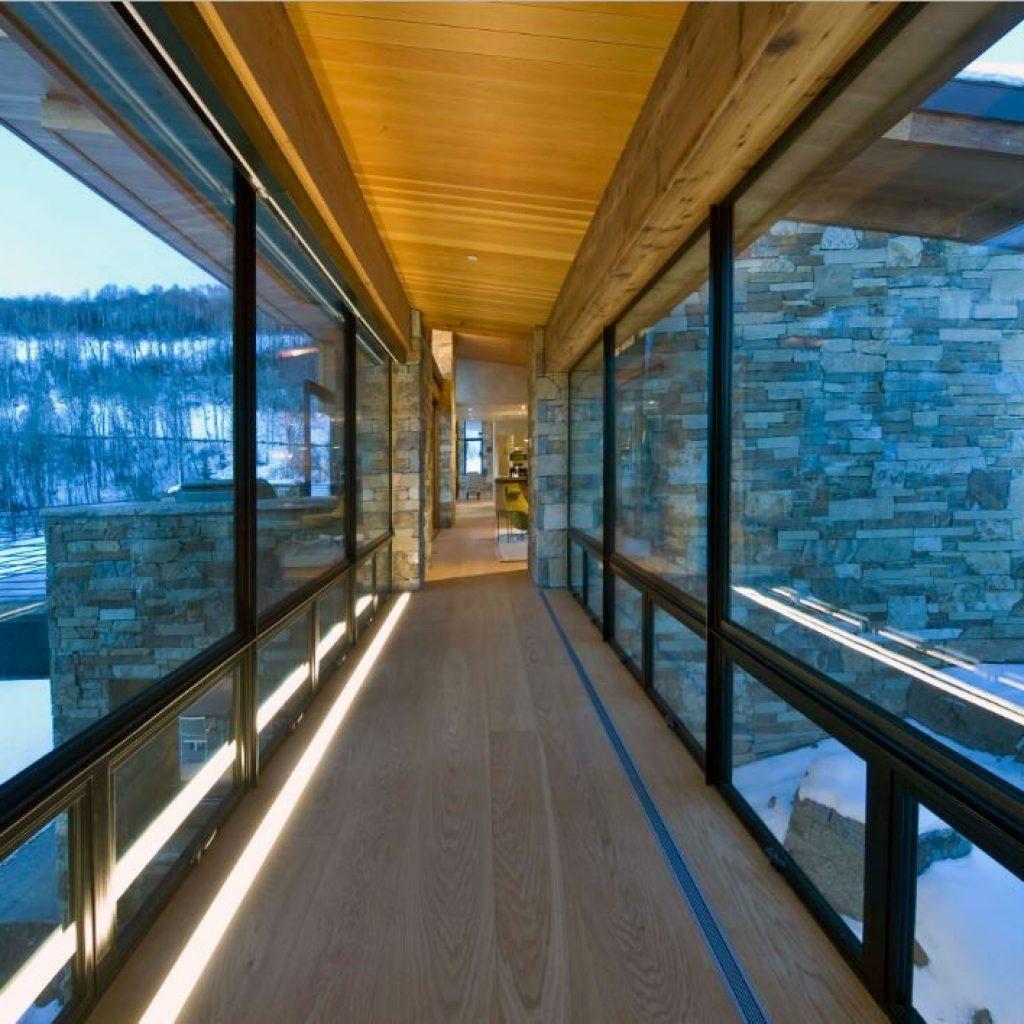 Linear Floor Lighting - Sheridan Interiors
