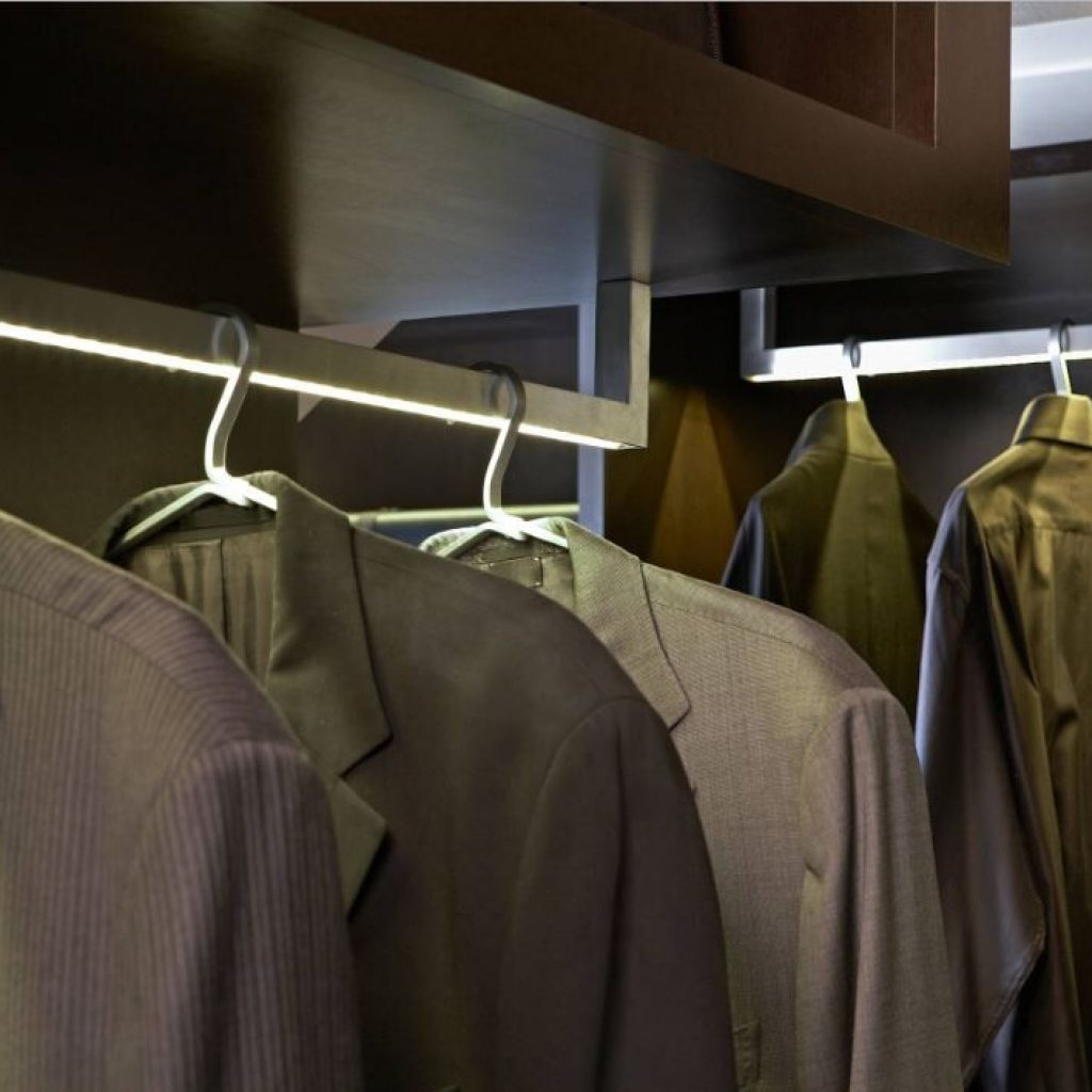 Closet Lighting - Sheridan Interiors