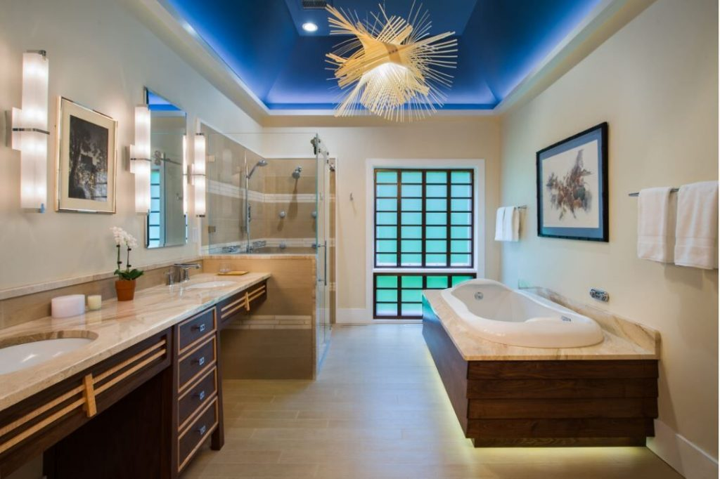 Visual Cueing in a bathroom - Sheridan Interiors
