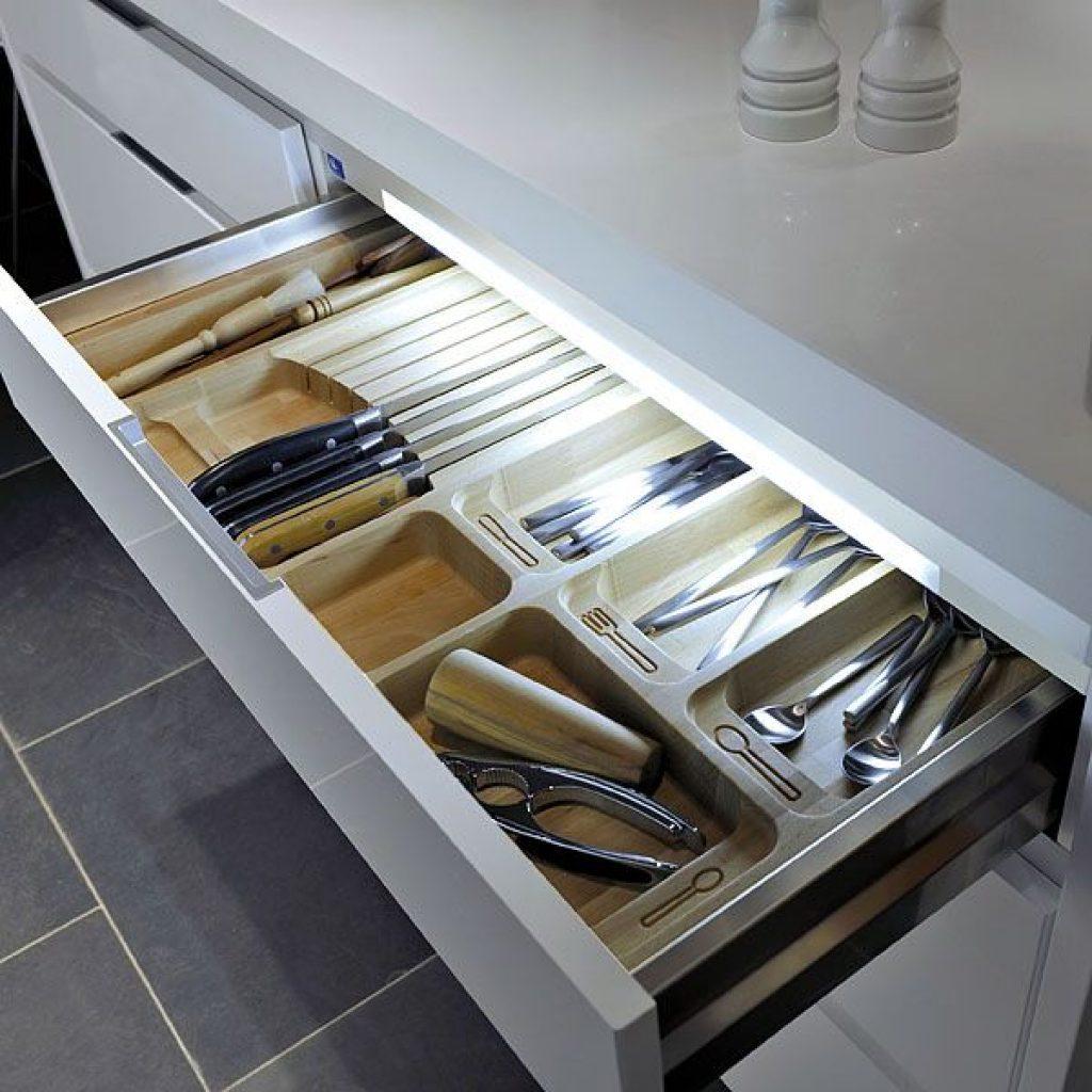Lights inside your drawers - Sheridan Interiors